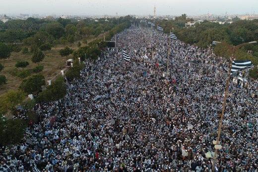 ببینید | خروش میلیونها پاکستانی علیه رژیم صهیونیستی