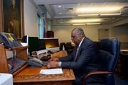 اولین تماس خارجی رئیس پنتاگون