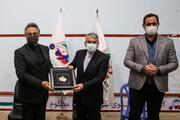 بازدید صالحی امیری از اردو تیم ملی اسکواش جوانان