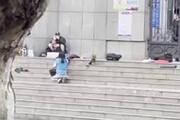 ببینید   لحظه اصابت گلوله تک تیرانداز پلیس چین به فرد گروگانگیر