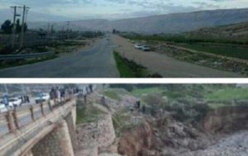بازدیدمعاون فرهنگی امور عمرانی استاندار از جاده کره شهبازی به چرام