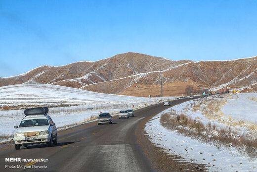 طبیعت برفی خراسان شمالی