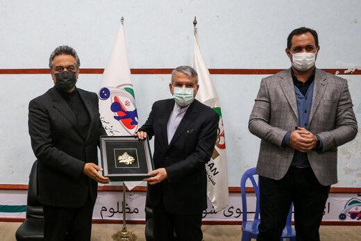 قدردانی رییس جهانی اسکواش از رییس المپیک ایران