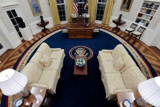 دکوراسیون تازه کاخ سفید/عکس