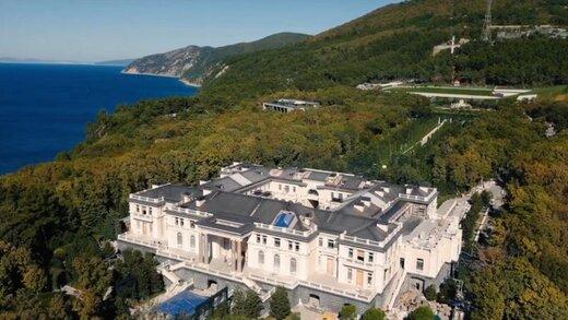 افشاگری ناوالنی درباره قصر عظیم پوتین