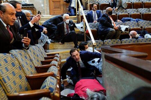 ببینید   خاطره تلخ نماینده زن مجلس آمریکا از حمله به کنگره