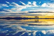 ببینید | دریاچهای زیبا و حیرتانگیز در قلب ایران اما ناشناخته