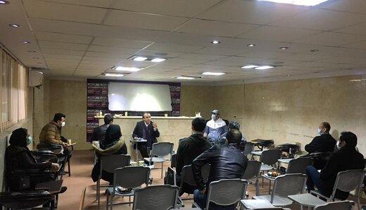 نشست صمیمی رییس هیات تهران با ورزشکاران استان