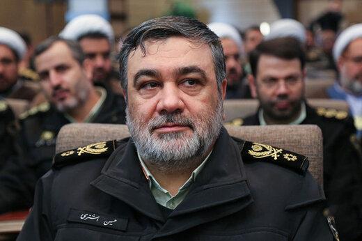سردار اشتری: مشکلی در تامین امنیت انتخابات نداریم