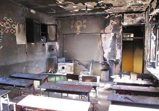 ببینید | آخرین وضعیت مصدومان حادثه اتشسوزی کانکس فرهنگیان دزفول