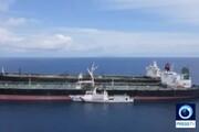 ببینید | لحظه توقیف نفتکش ایرانی در آبهای اندونزی