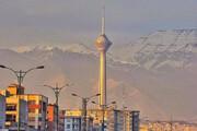 ببینید | نمایی رویایی از برج میلاد و آسمان تمیز تهران