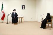 تصاویر | دیدار خانواده شهید فخریزاده با رهبر انقلاب
