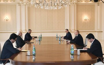 ظریف با علیاف دیدار کرد؛استقبال ایران از طرح جمهوریآذربایجان