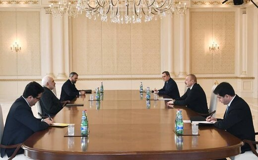 Zarif welcomes Azeri president's proposal for six-state regional cooperation