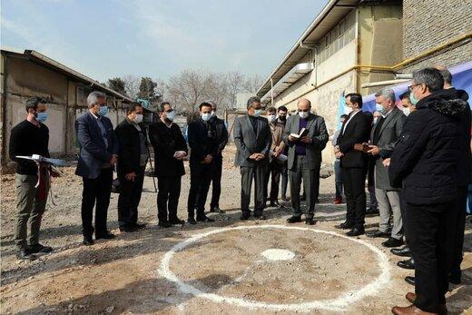 ساخت خانه ملی اسکواش آغاز شد