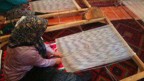 ثبت روستای اندج در الموت به عنوان روستای ملی صنایعدستی