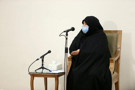 دیدار خانواده دانشمند شهید محسن فخریزاده