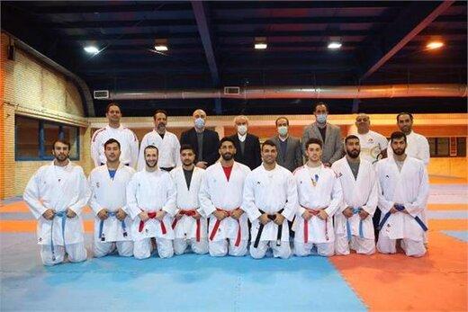 بازدید دکتر سجادی، رضوانی و فخری از اردوی تیم ملی کاراته