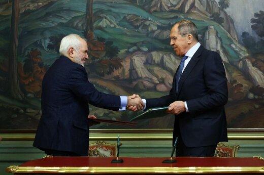 تصاویری از ظریف، وزیر امور خارجه کشورمان در دیدار با همتای روس خود