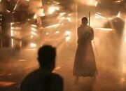 تصویری تازه از چهره جنجالی لیلا حاتمی در فیلم «قاتل و وحشی»/ عکس