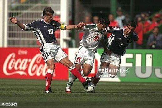 تصاویری نوستالژیک از مهراد میناوند در تیم ملی