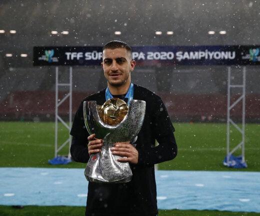 بازیکن ایرانی سرانجام از ترابزون جدا شد/عکس