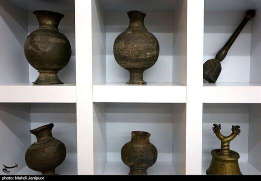 نمایش جام باستانی گیلان با قدمت ۲ هزار سال