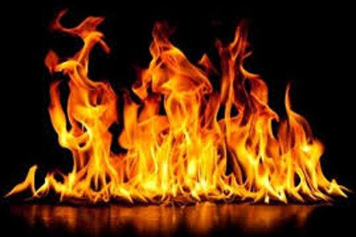 آتشسوزی در پایانه مسافربری مشهد