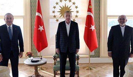 دیدار ظریف با اردوغان پشت درهای بسته