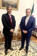 دیدار مدیرکل خاورمیانه وزارت خارجه هند با عراقچی