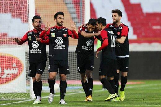 علی انصاریان در عکس تیمی پرسپولیسیها/عکس