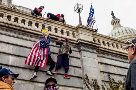 حضور مخبر افبیآی در میان مهاجمان کنگره آمریکا