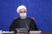 الرئيس روحاني: حكومة الجمهورية الاسلامية تدعم المستضعفين
