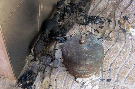 ببینید | انفجار کپسول گاز در نارمک تهران