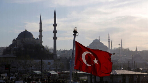 ترکیه از امپراتوری خود رونمایی کرد!؛نقشهای با خط فرضی زیرنظر حکومت ترکیه که مصر و عربستان را هم دربرگرفته!/عکس