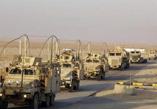کاروان آمریکاییها وارد شرق سوریه شد
