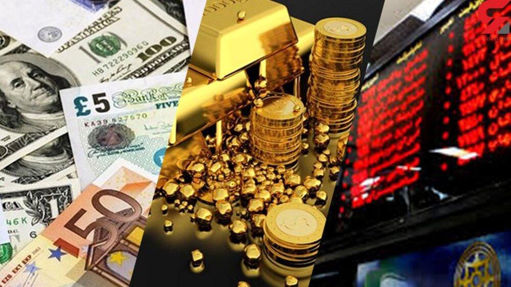 رفتار نامتعارف ارز در بازار/سرمایهگذاران در بازار طلا چقدر زیان کردند؟