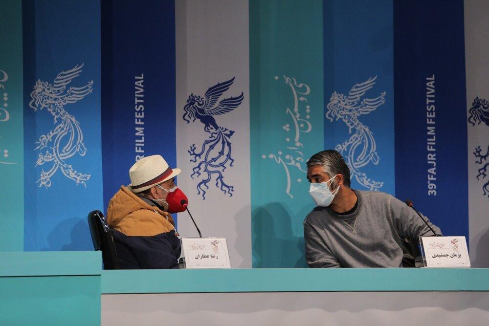 از شوخیهای رضا عطاران تا عصبانیت محمدحسین مهدویان/ گزارش نشست خبری فیلم «شیشلیک»