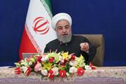 روحانی: باز هم بر آمریکا پیروز شدیم / رأی موفقی در دادگاه لاهه گرفتیم