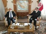 أمين المجلس الاعلى للأمن القومي الايراني يستقبل وزير الخارجية العراقي