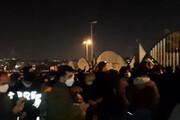 ببینید | خداحافظی هواداران با علی انصاریان در حوالی بیمارستان