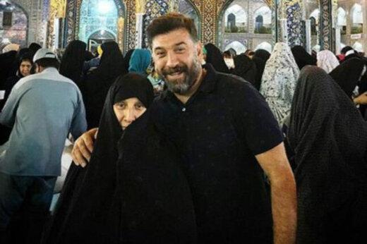 ببینید | مادر علی انصاریان از فوت فرزندش بی خبر است!