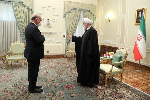 دیدار روحانی با وزیر خارجه عراق/ ترور سردار سلیمانی مصداق بیشرمانهترین دخالت خارجی در امور داخلی عراق بود