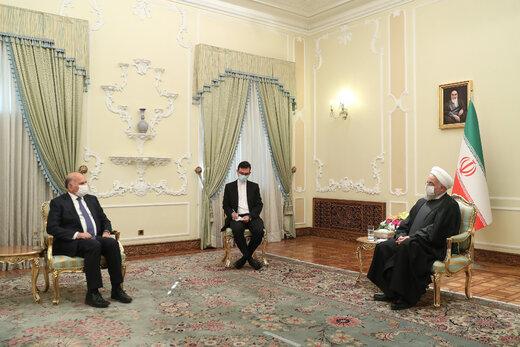 President Rouhani: Iran-Iraq strategic bonds ensure security, stability of region