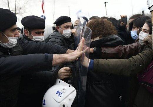 اردوغان دانشجویان معترض را تروریست خطاب کرد