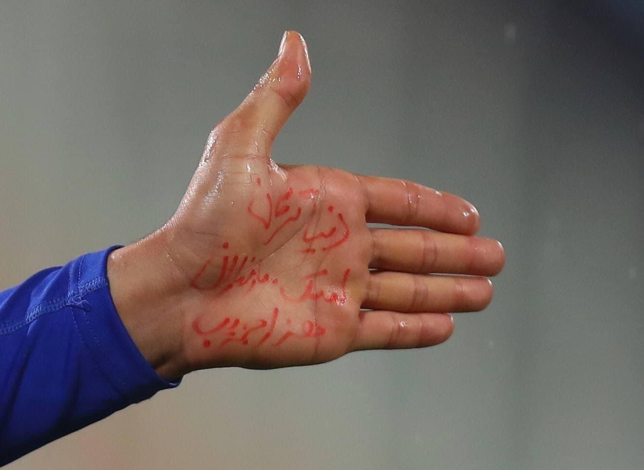 شادی جالب مدافع شمالی استقلال/عکس