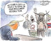 ببینید: تیم جدید ترامپ در برابر استیضاح!