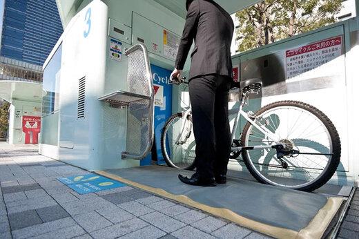 ببینید | تکنولوژی جالب در ژاپن؛ پارکینگ ضدزلزله و زیرزمینی دوچرخه