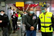 ببینید | دستگیری سارق میلیونی در مسیرهای زیرزمینی پایتخت